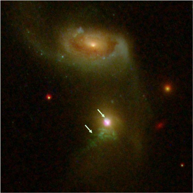 Burps, black hole