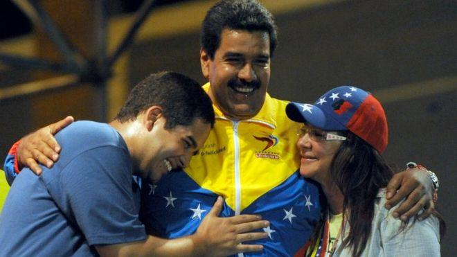 EUA anunciam sanções contra o filho de Maduro