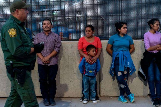 мигранты с детьми