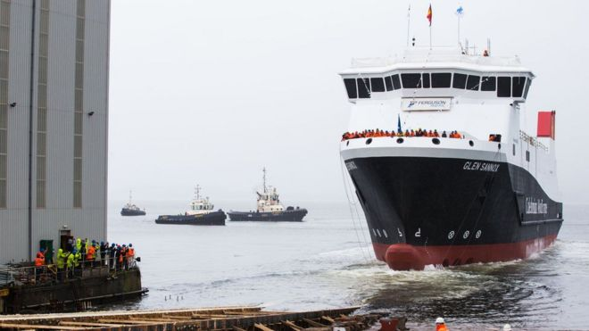 Further delays to delivery of new CalMac ferries - BBC News