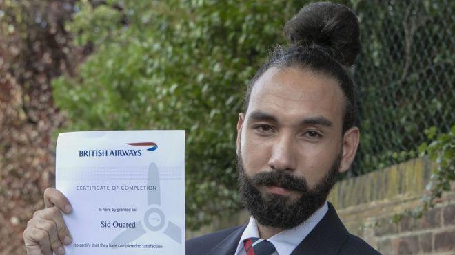 Man Bun Hairstyle Gets British Airways Worker The Sack Bbc News