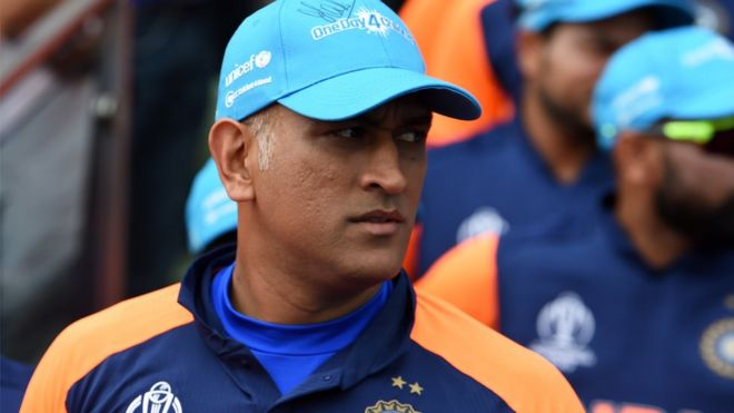 Dhoni failed to help India chase down England's 337
