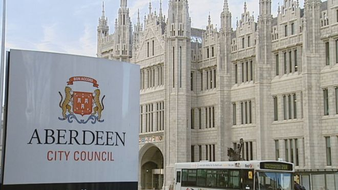 acf67be03248d Aberdeen City Council faces 200 job cuts and 4.79% tax rise - BBC News