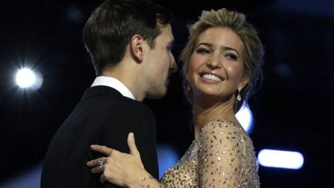 إيفانكا ترامب وزوجها جارد كوشنر.