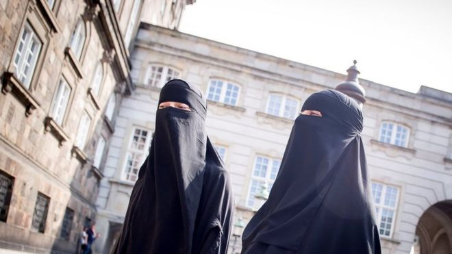 Denmark passes ban on niqabs and burkas