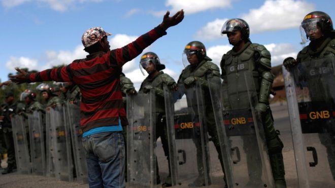 Venezuela macht die Grenze dicht