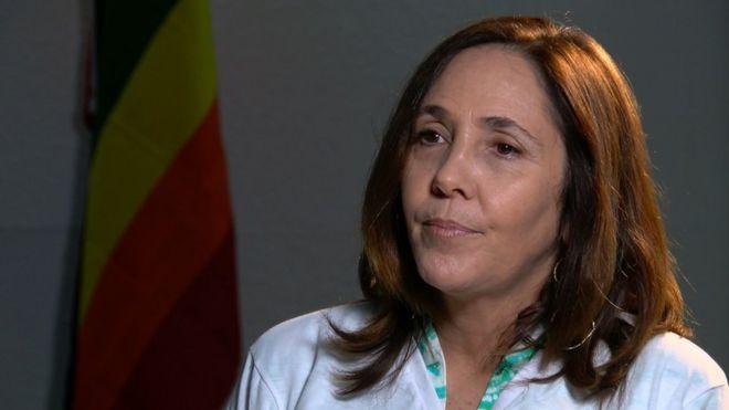 Mariela Castro en entrevista con la BBC