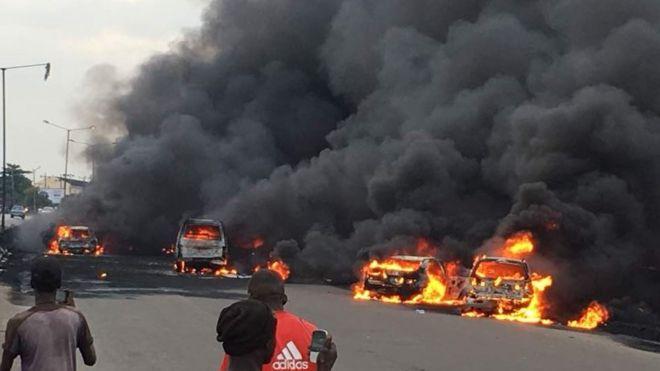 Resultado de imagen para Explosión en Ibadan Road