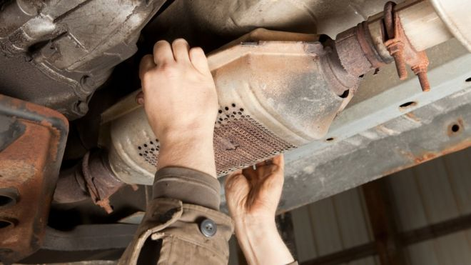 Catalytic Converter Shop Near Me >> Huge Rise In Catalytic Converter Thefts Bbc News