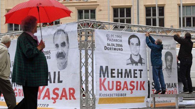 Almanyadaki Nsu Davası Neo Nazi Cinayetlerinde Tek Tutuklu Sanığa