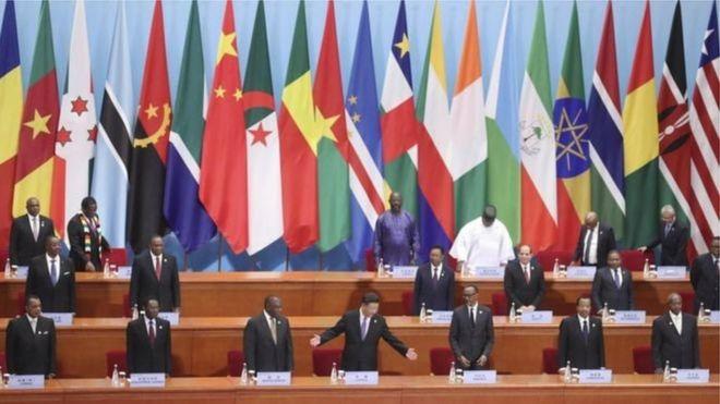 Chủ tịch Tập và các nhà lãnh đạo châu Phi tại Hội nghị Thượng đỉnh FOCAC ở Bắc Kinh, tháng 9/2018