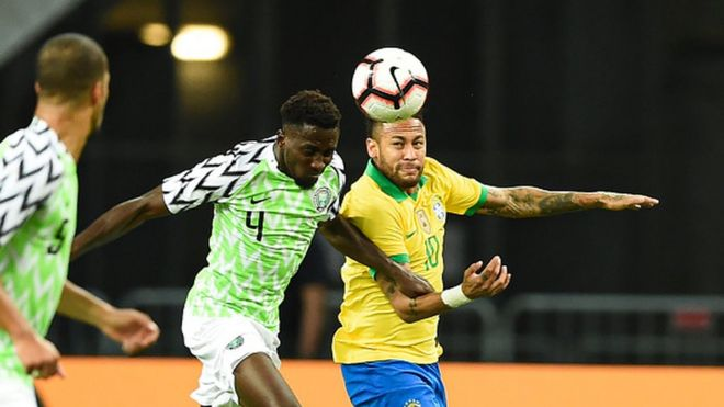 Image result for pic of nigeria vs brazil