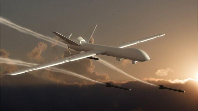 Attack drone artwork
