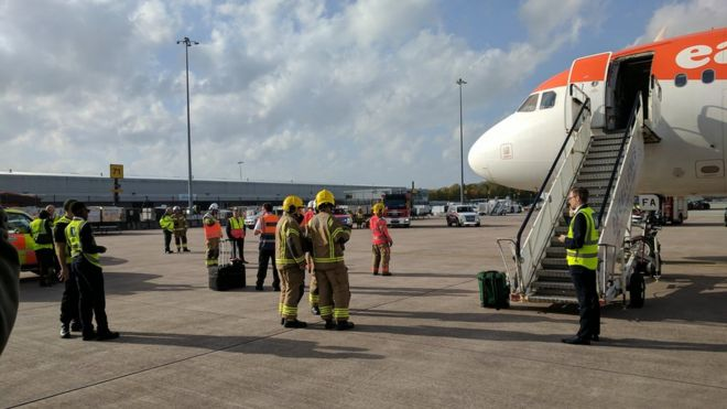 Smoke Smell Forces Flights To Land At Uk Airports Bbc News