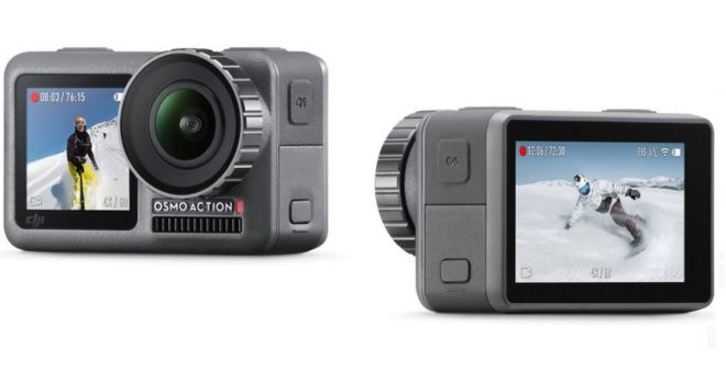 DJI Osmo Action camera poses threat to GoPro