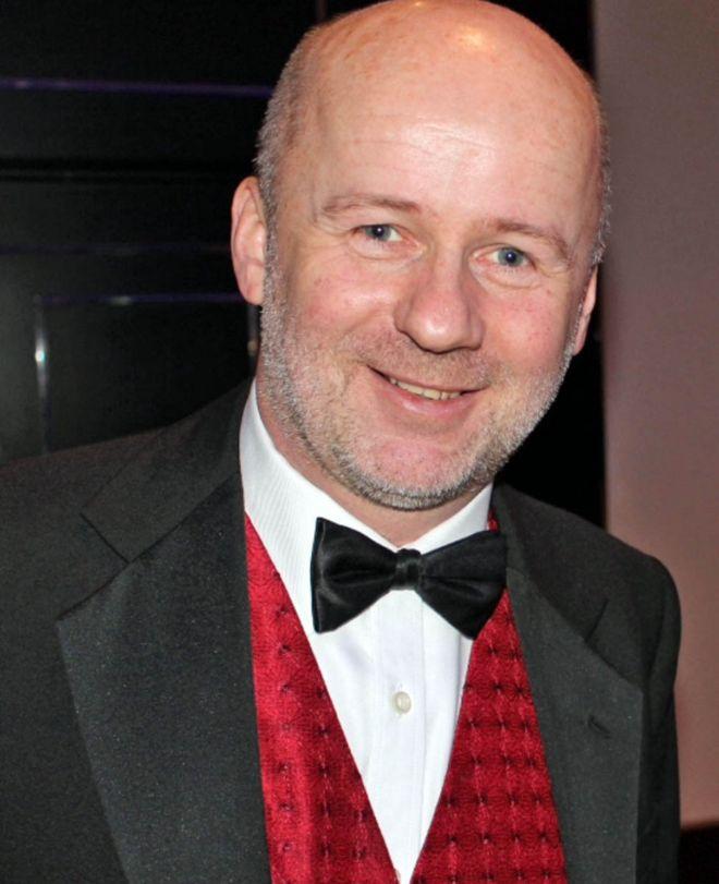 Matt at a charity ball in January 2019