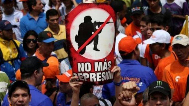 В Венесуэле во время протестов убили 13-летнего подростка
