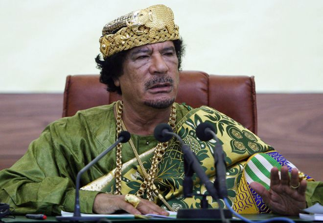 Image result for gaddafi killed bbc news
