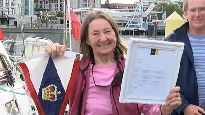 Image result for RECORD BREAKING JEANNE SOCRATES IS THE WORLD'S OLDEST SAILOR