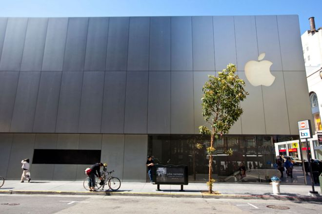 Apple store in San Francisco