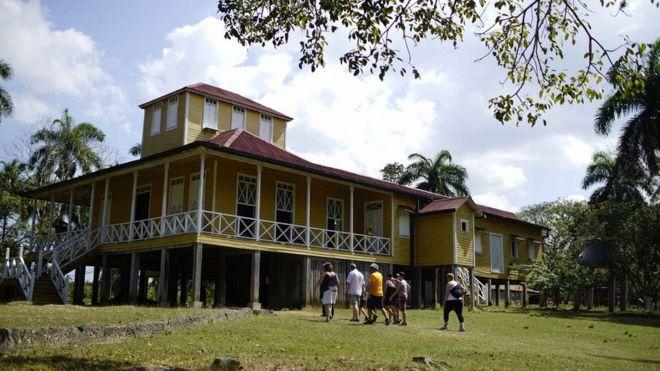 Casa da familia Castro em Biran