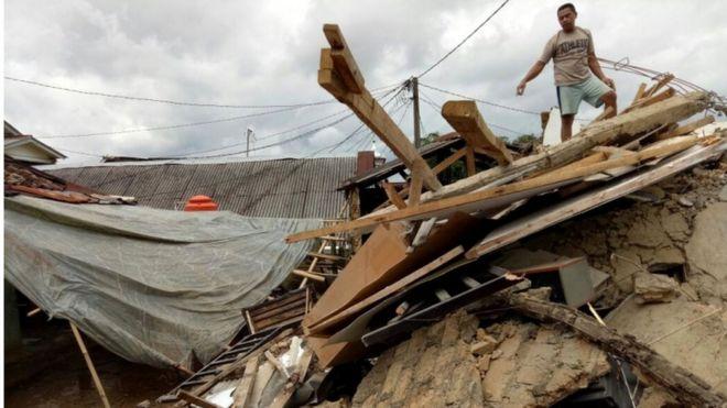 Gempa Bumi Kembali Mengguncang Banten Bbc News Indonesia