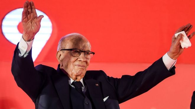 Tunisian president hospitalized for 2nd time in week