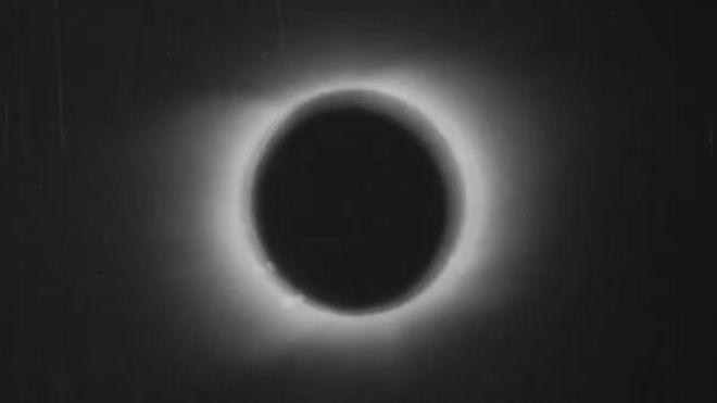 Captura del eclipse