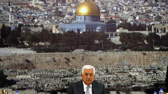 Filistin lideri Mahmud Abbas: İsrail ile tüm resmi temasları askıya aldık