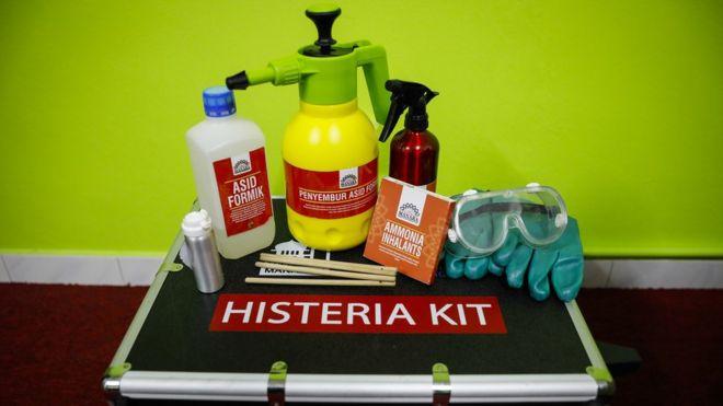 Kit 'anti-histeria'