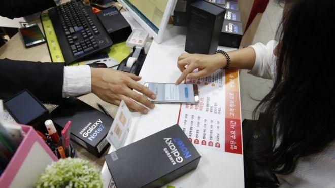 Samsung Note 7 recall