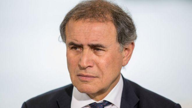 Nouriel Roubini, chairman at Roubini Global Economics and NYU Stern School of Business professor.