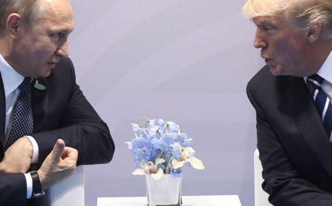 رهبران دو کشور در هلسینکی با هم دیداری خصوصی داشتند