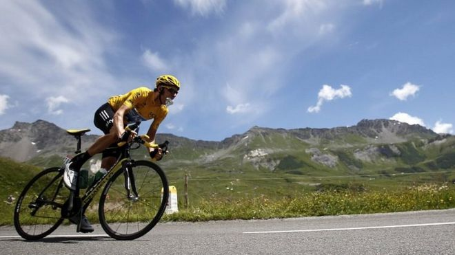 Tour de France  How to cycle as fast as a pro - BBC News 67f762f84