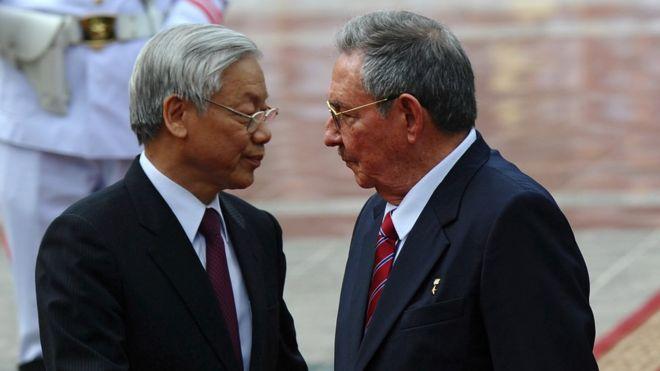 Việt Nam, Cuba, xóa nợ, Nguyễn Phú Trọng