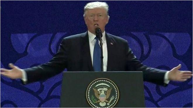 Rais Trump amesema kuwa Marekani imejiandaa kushirikiana na mataifa ya Apec iwapo kutakuwa na bishara yenye kutopendelea upande wowote.