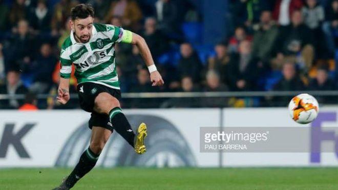 Mchezaji anayechezea nafasi ya kiungo kikosi cha sporting Lisbon ,Bruno Fernandes