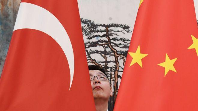 Türkiye Çin bayrakları