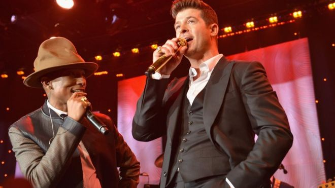 For robin thicke blurred lines thanks