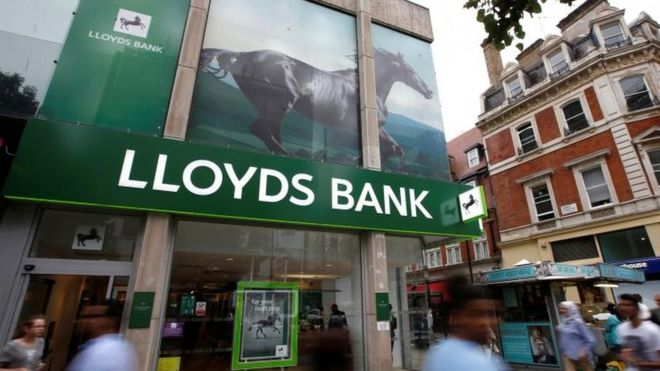 Lloyds Bank exterior