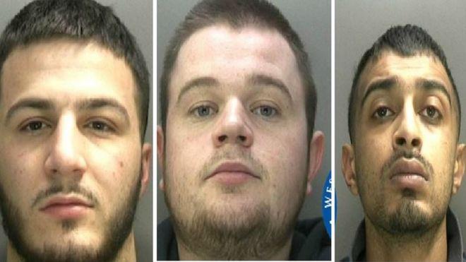 Birmingham men jailed for Worcestershire and Warwickshire
