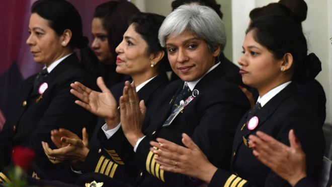 Female pilots: Which airline has the highest number? - BBC News