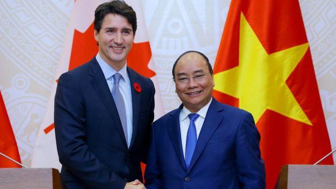 Thủ tướng Canada Justin Trudeau thăm Việt Nam và dự APEC