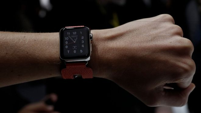 The current Apple Watch range requires an iPhone to be paired via Bluetooth
