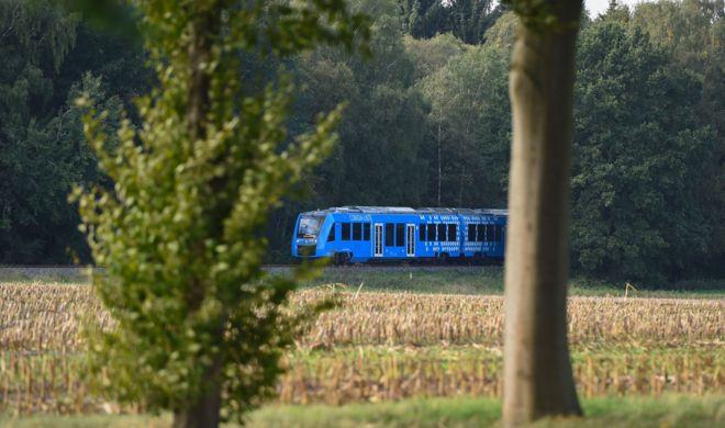El primer tren de hidrógeno, inaugurado en Alemania.