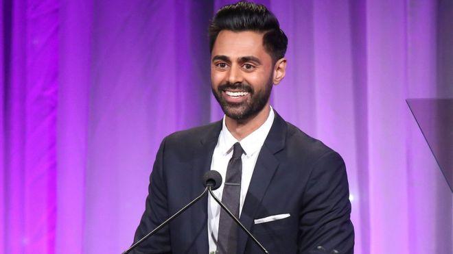 Hasan Minhaj at The Beverly Hilton Hotel on November 12, 2018