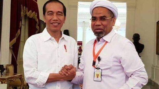 Hak Atas Foto Detikcom Image Caption Presiden Joko Widodo Melantik Ali Mochtar Ngabalin