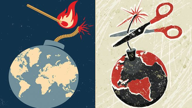 The outcome is not inevitable: powers can avoid war if they act appropriately.