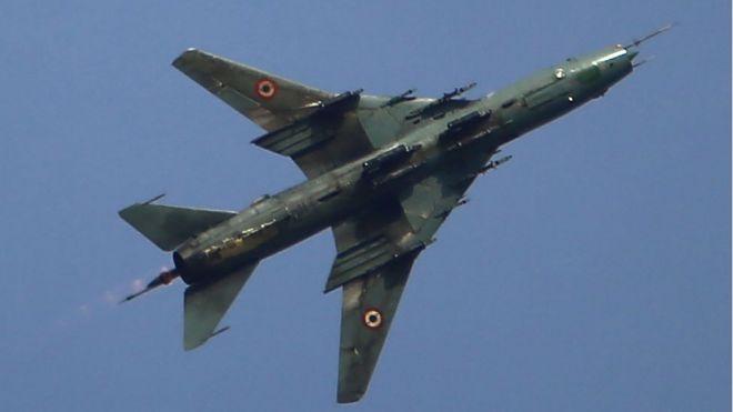 ВС Израиля сбили сирийский самолет в районе Голанских высот