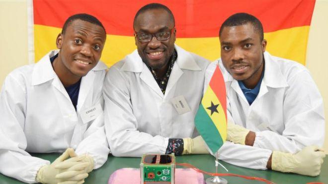 GhanaSat-1, Satellite, News, Ghana,